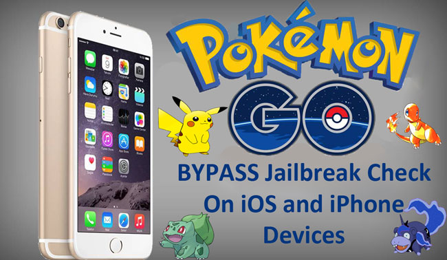 Bypass Jailbreak Check in Pokemon Go  on IOS devices