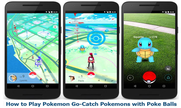 Install Pokemon Go Apk on Smartphones