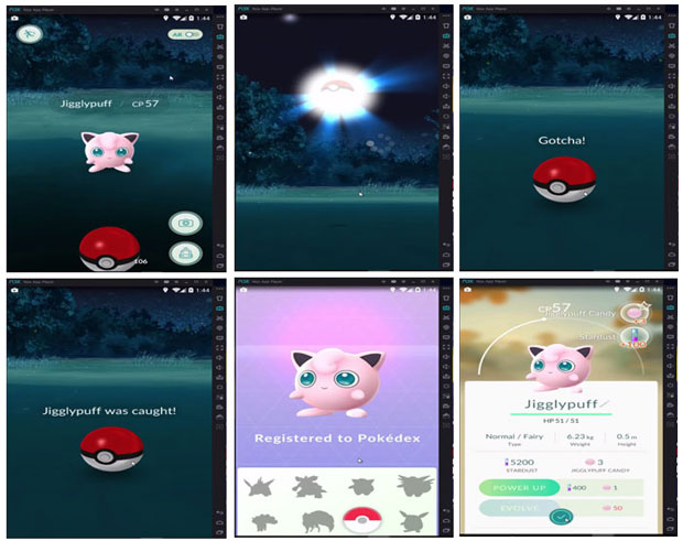 Play Pokemon Go Game on Pc with Nox App