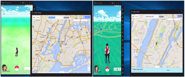 Pokemon go for Pc/laptop using Nox Player