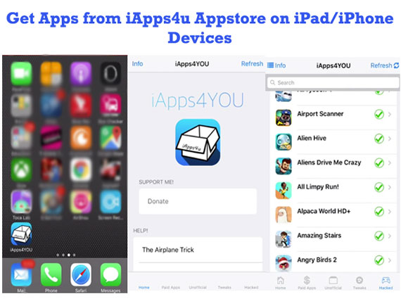 Get Apps From iApps4u Appstore on iDevices