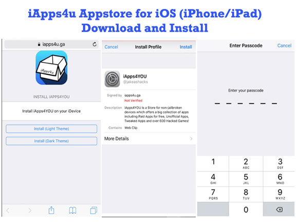 iApps4u for iOS Devices (iPhone/iPad)